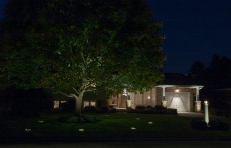 exterior lighting - front yard - Ancaster